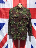 EX MILITARY ARMY LIGHT WEIGHT GREEN CAMO COMBAT JACKET